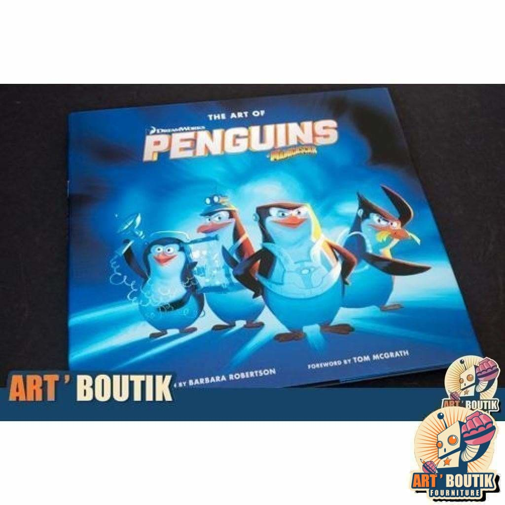The Art of DreamWorks Penguins of Madagascar -Dreamworks - Senzu Store