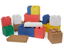 Multi-Colour Cardboard Block Combo Pack (29)