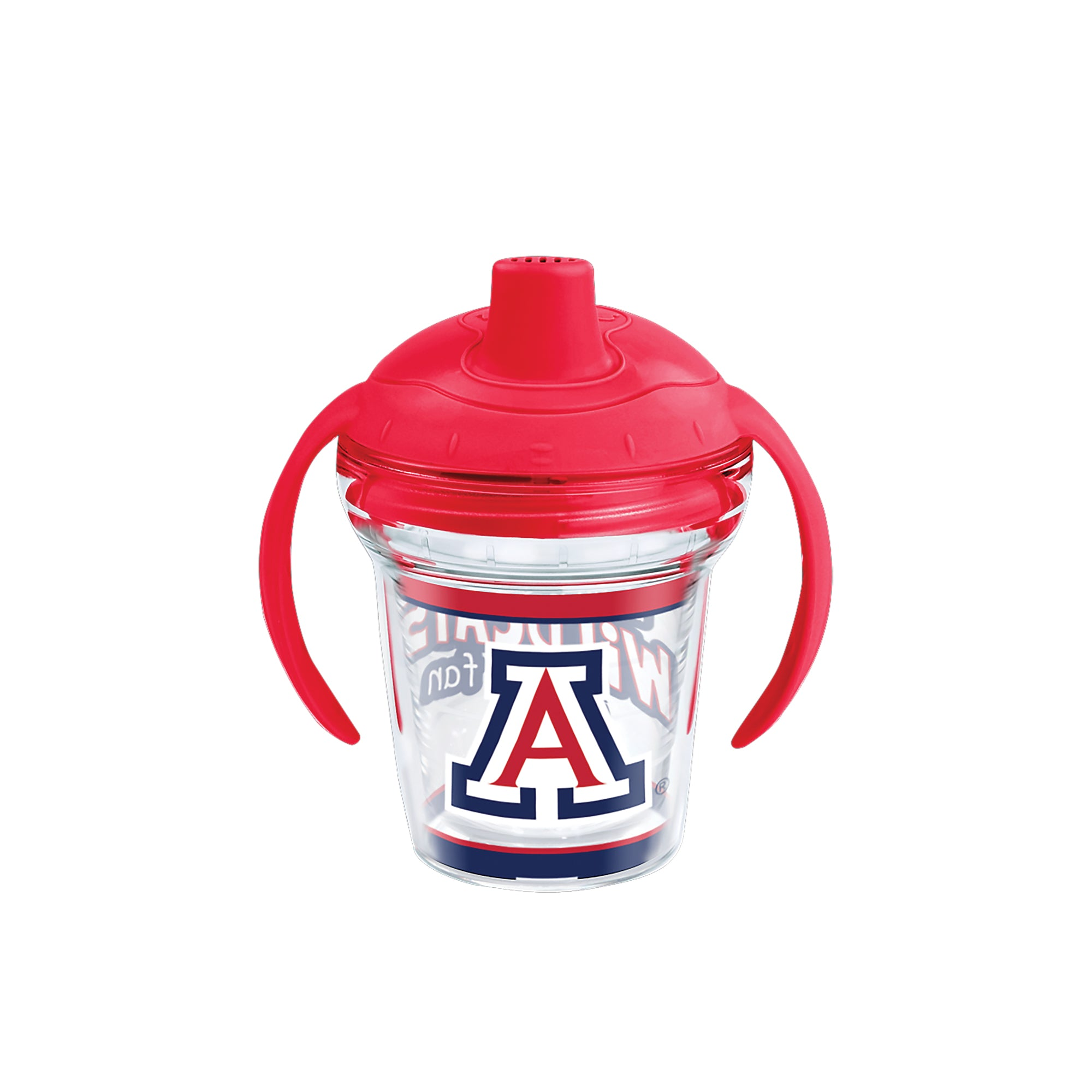 Arizona Wildcats Born a Fan Sippy Cup 6 oz