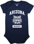 Arizona Wildcats Cat Face Bodysuit - Navy