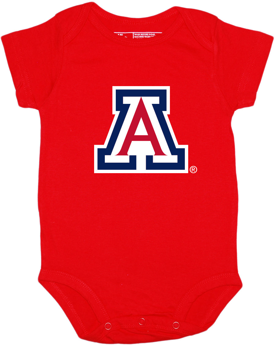 Arizona Wildcats Block 'A' Bodysuit - Red