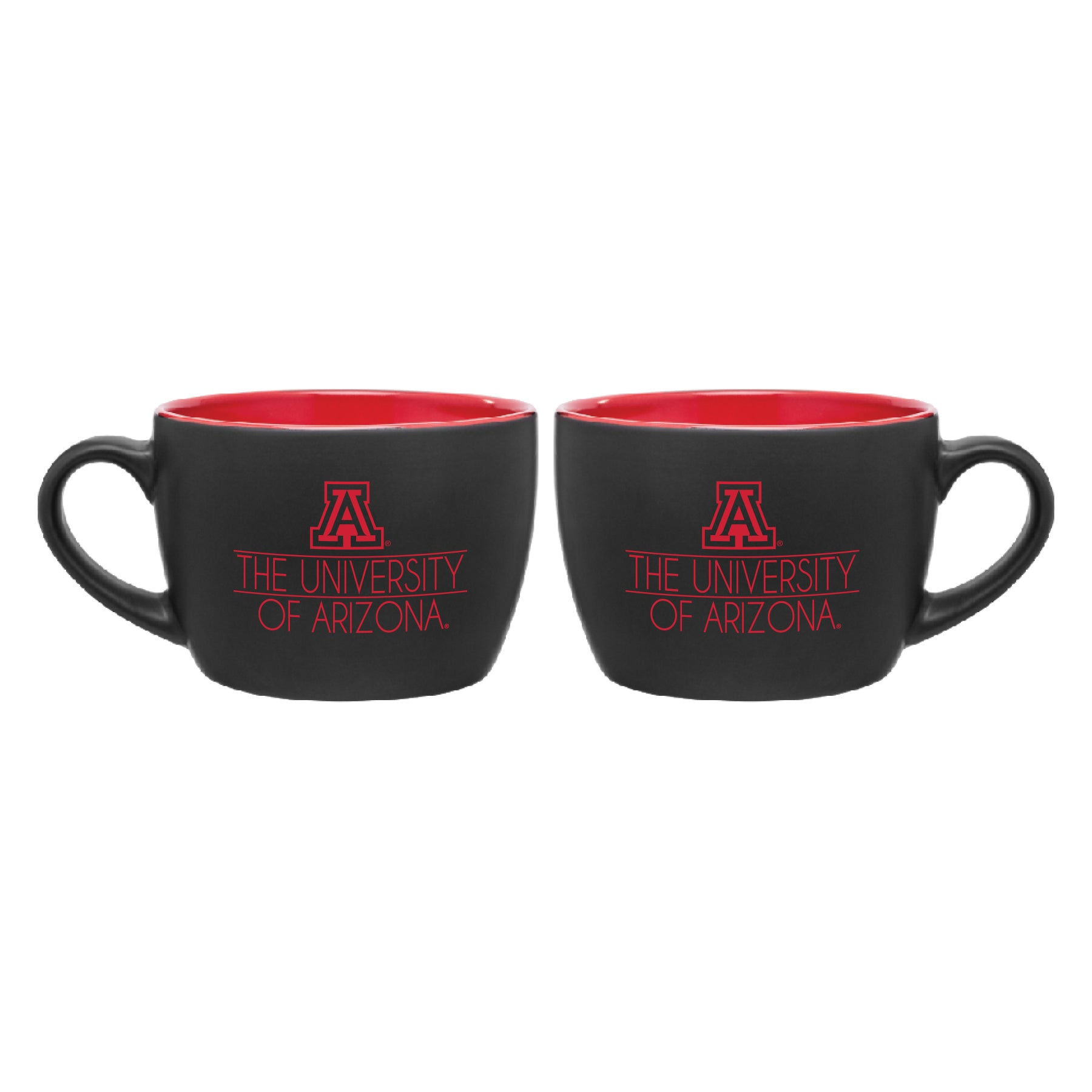 Arizona Wildcats Bolzano Mug - Matte Black