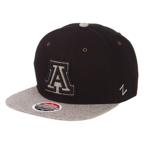 Arizona Wildcats Boss Flat Black/ Leather Grey - Black