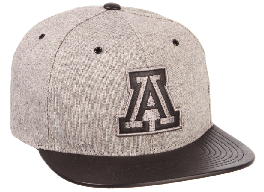 Arizona Wildcats Gunsmoke 32/5 Hat - Grey