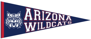 Arizona Wildcats Mini Collegiate Felt Pennant