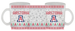 Arizona Wildcats Frosted Glass Mug 11 oz