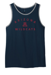 Arizona Wildcats Little A Ringer Tank - Navy