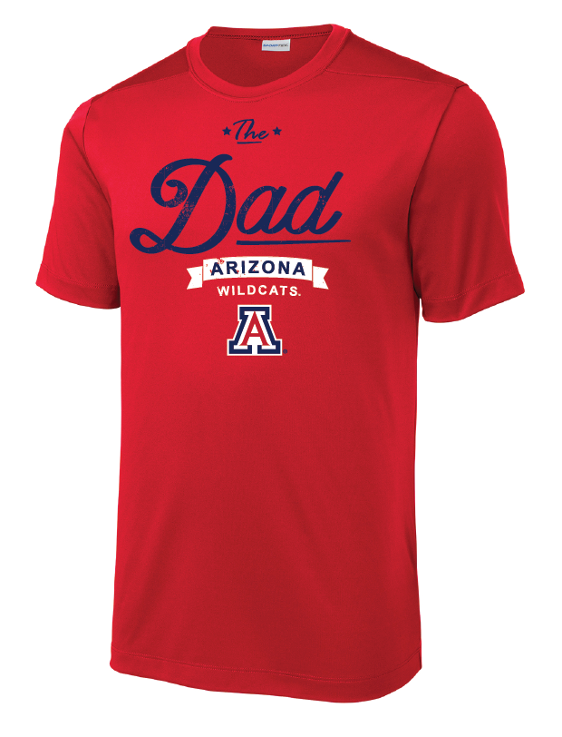 Arizona Wildcats The Dad Tri-Blend Tee - Red