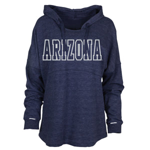 Arizona Wildcats Womens On the Go Hoodie - Navy