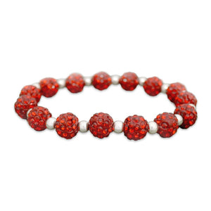 Arizona Wildcats My Team Bling Stretch Bracelet Red