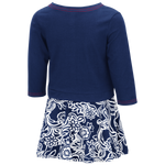 Arizona Wildcats Girls Toddler Birdie Skirt - Navy/White