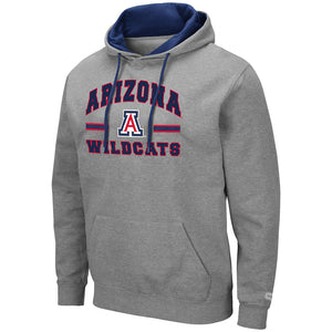 Arizona Wildcats Comic Book Pullover - Heather Grey