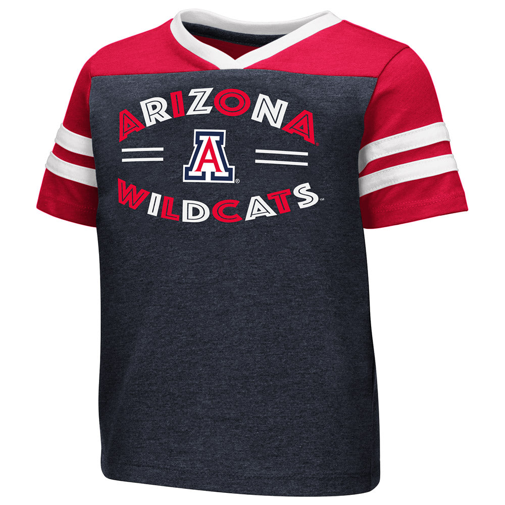 Arizona Wildcats Girls Toddler Good Feathers - Navy/Red/White