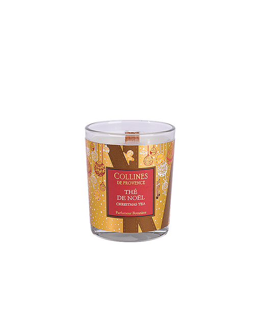"Collines De Provance scented candle ""CHRISTMAS TEA"", 75 g."