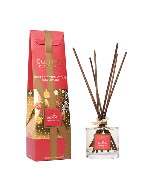 "Collines De Provance Reed Diffuser ""CHRISTMAS TEA"" 100 ml."