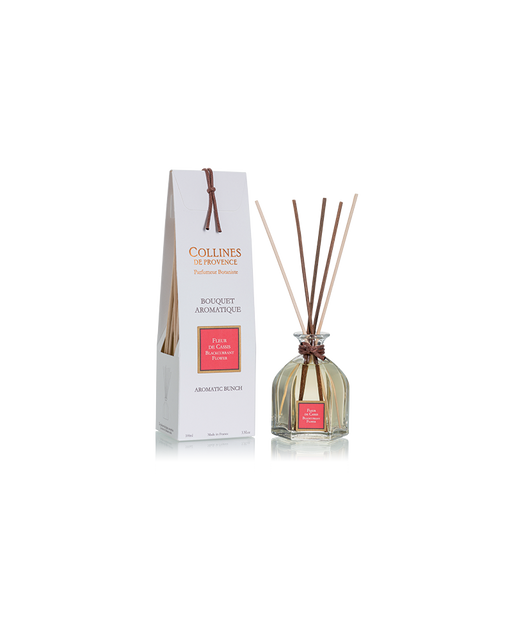 "Collines de Provence Reed Diffuser ""BLACKCURRANT FLOWER"", 100 ml."