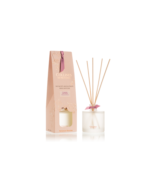 "Collines De Provance Reed Diffuser ""TOUCH OF SATIN"" 100 ml."