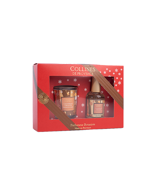 "Collines De Provence Gift Box ""CINNAMON ORANGE"""