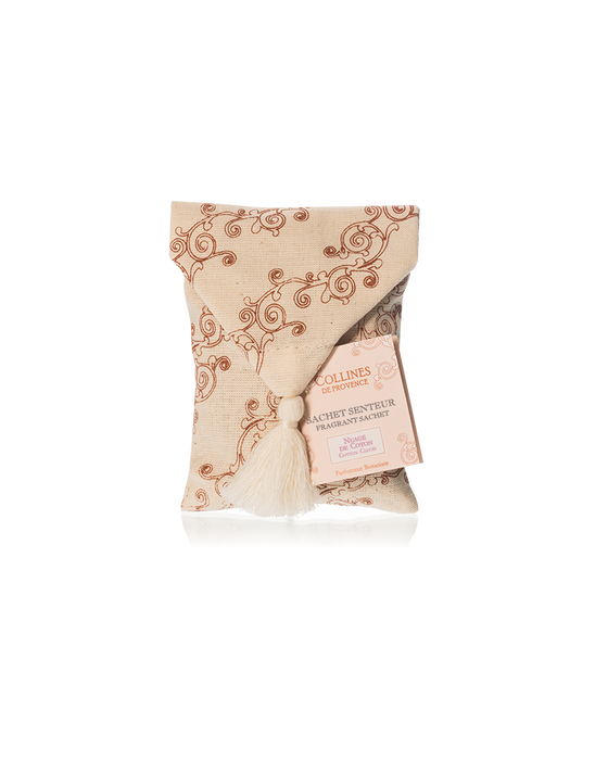 "Collines De Provence Ecru Fragrant Sachet ""COTTON CLOUD"""