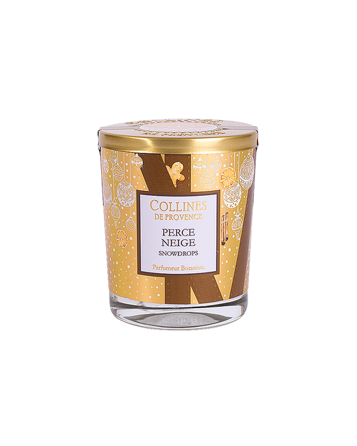 "Collines De Provence scented candle ""SNOWDROPS"" 180 g."
