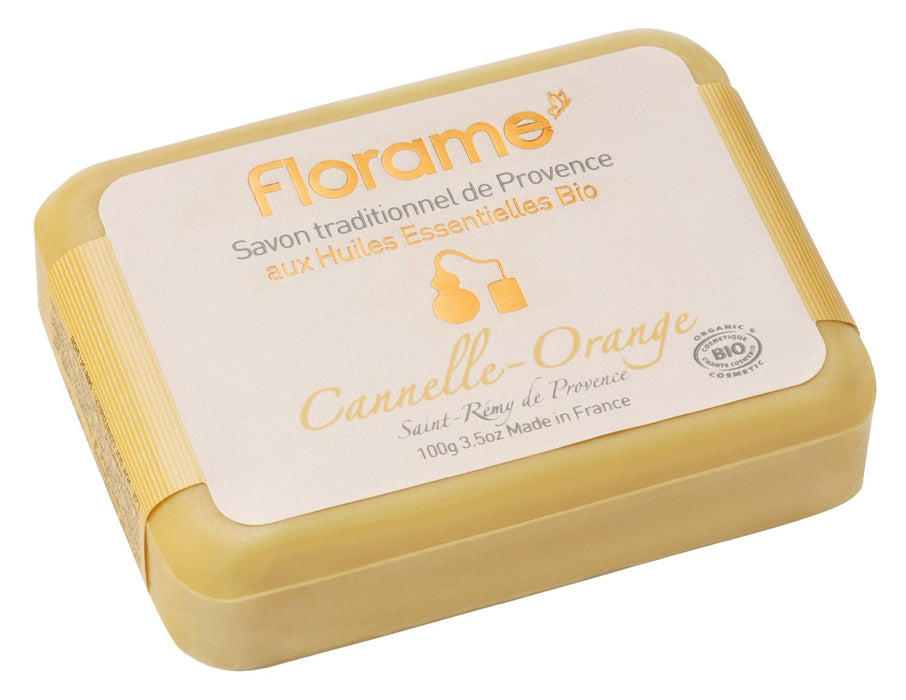 Cinnamon-Orange Soap Bar, 100 g