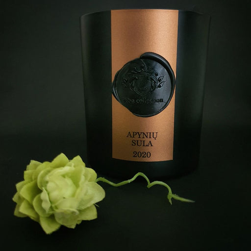 "Žiba collection scented candle ""Apynių sula"", 220 ml."