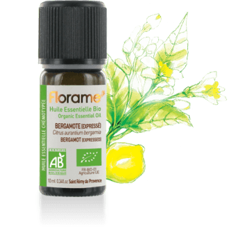 Bergamot Expressed Organic Essential Oil, 10 ml