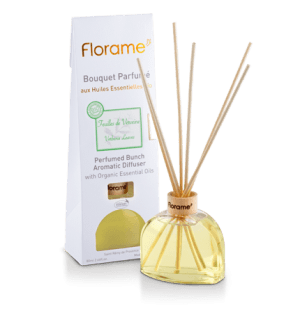 Verbena Leaves Diffuser With Sticks, 80 ml