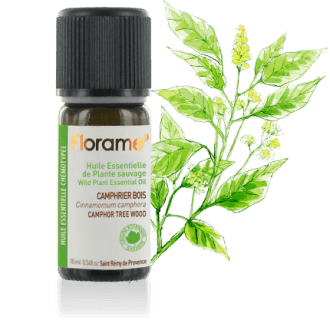 Camphor Tree (wood) WILD Essential oil, 10 ml