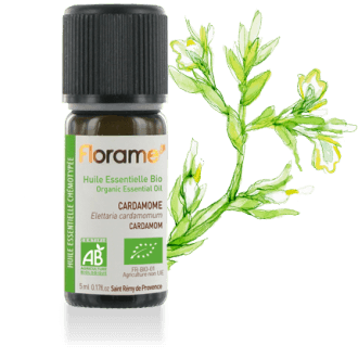 Cardamom Organic Essential oil, 5 ml
