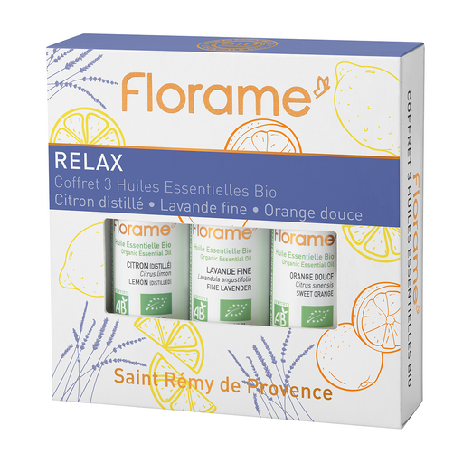 Relax Organic Essential Oils Pack