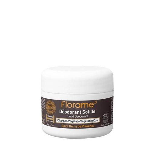 FLORAME Solid Deodorant for Men, 50g