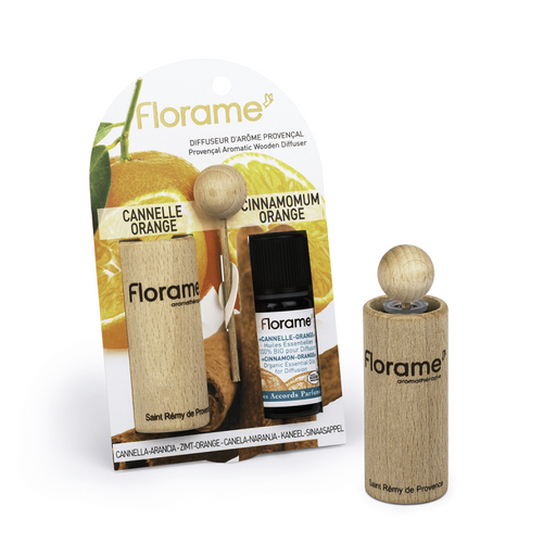 Provance Diffuser + Cinnamon -Orange Oil, 10 ml