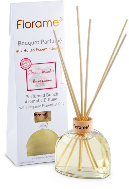 Almond Blossom Diffuser With Sticks, 80 ml