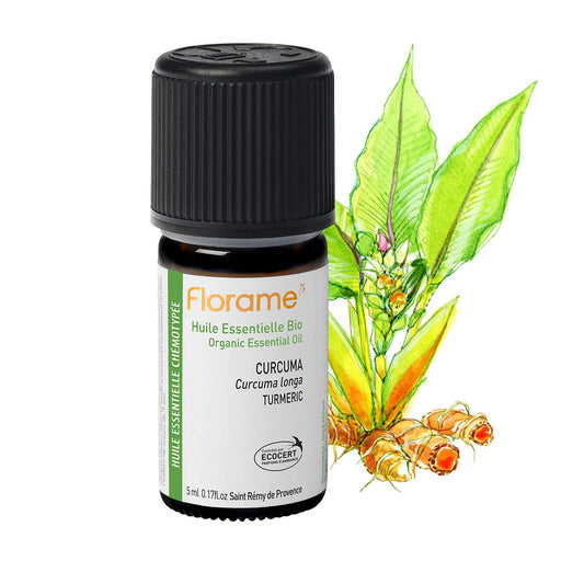 Organic Curcuma Essential Oil, 5 ml