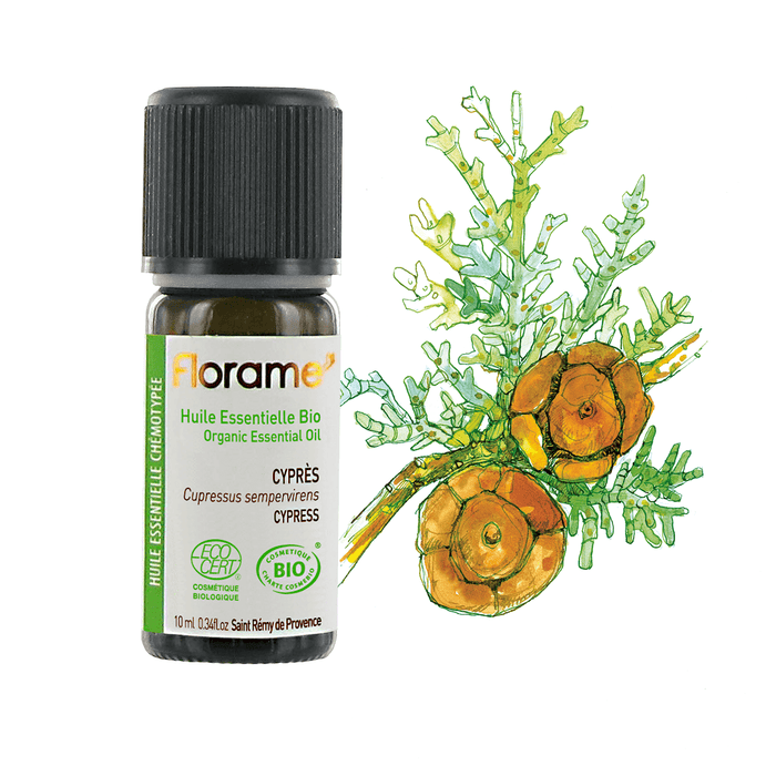 Cypress Organic Essential Oil, 10 ml