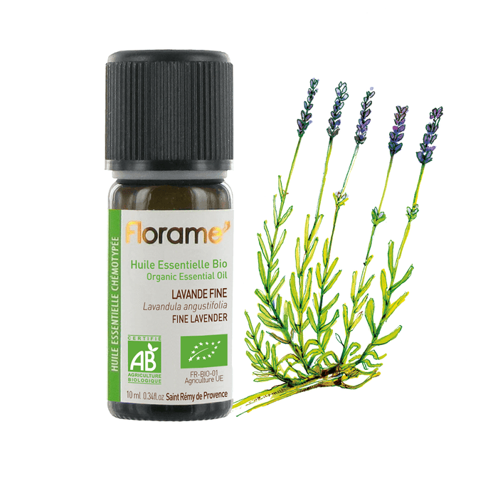 Organic Fine Lavender Essential Oil, 30 ml