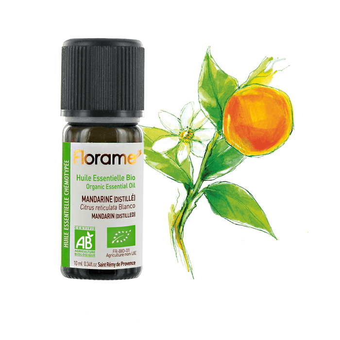 Distilled Tangerine Organic, 10 ml