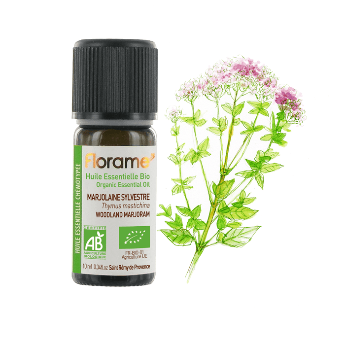Woodland Marjoram Organic Essential oil, 10 ml