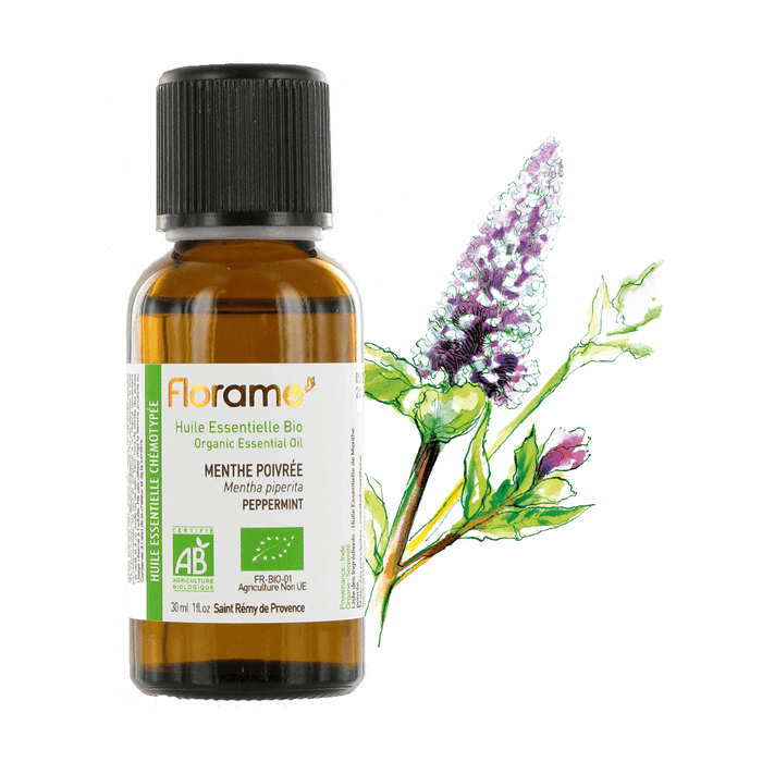 Organic Peppermint Essential Oil, 30 ml