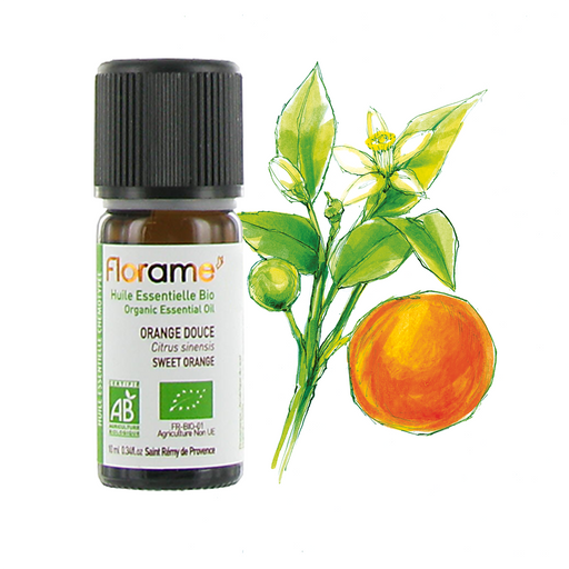 Sweet Orange Organic Essential oil, 10 ml