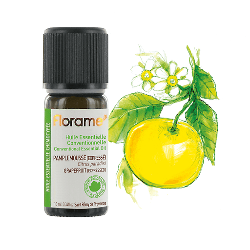 Organic Expressed Grapefruit Essential Oil, 30 ml