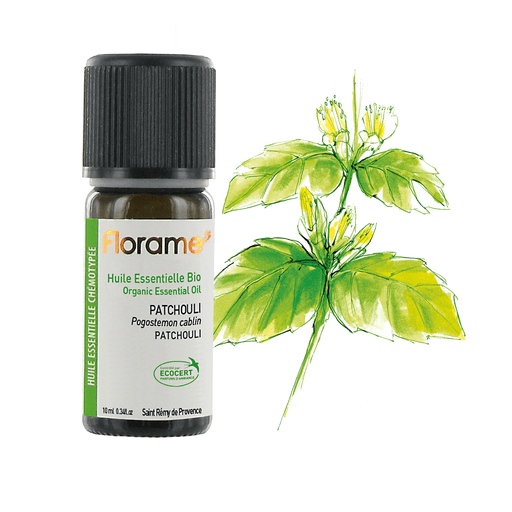 Patchouli Organic Essential Oil, 10 ml
