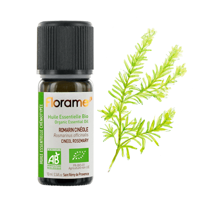 Cineol Rosemary Organic Essential oil, 10 ml