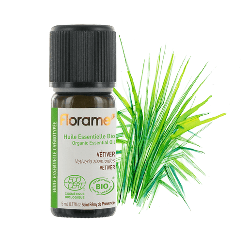 Vetiver Organic Essential oil, 5 ml