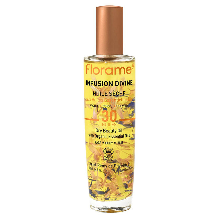 FLORAME Divine Infusion - dry Beauty Oil, 100 ml.