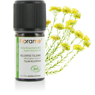 Italian Helichrysum Organic Essential oil, 5 ml