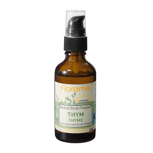 "Florame ""Thyme"" Organic Macerated Oil from Provence, 50ml"