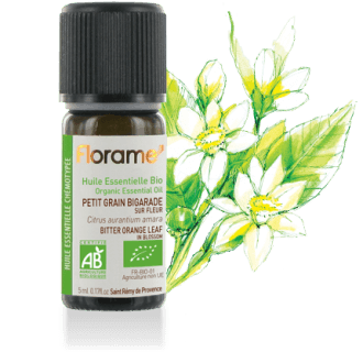 Bitter Orange Leaf in Blossom Organic Essential Oil, 5 ml