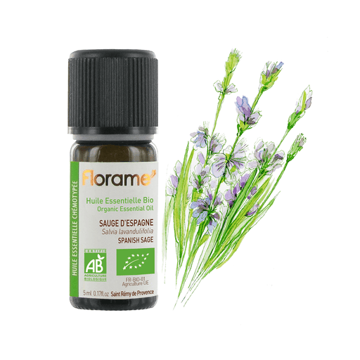 Spanish Sage Organic Essential oil, 5 ml